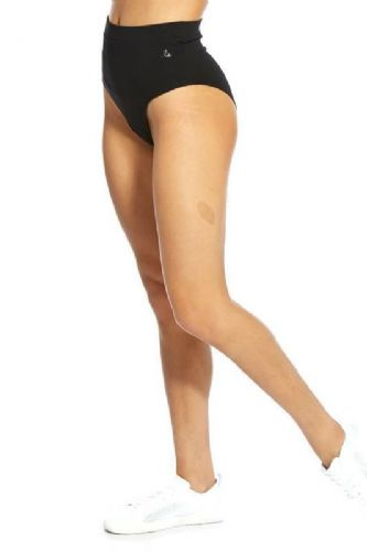 PINEAPPLE Dancewear Womens Classic High Cut Dance Knickers Knicks Nix Black
